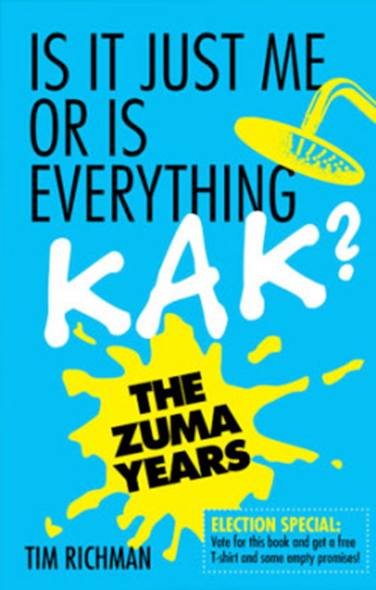 Is it just me or is everyone talking kak? - Tim Richman