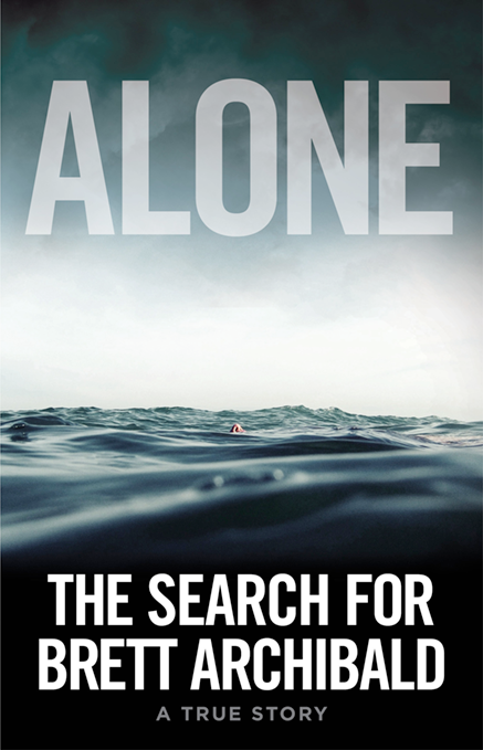 Alone - The Search for Brett Archibald - 437x679