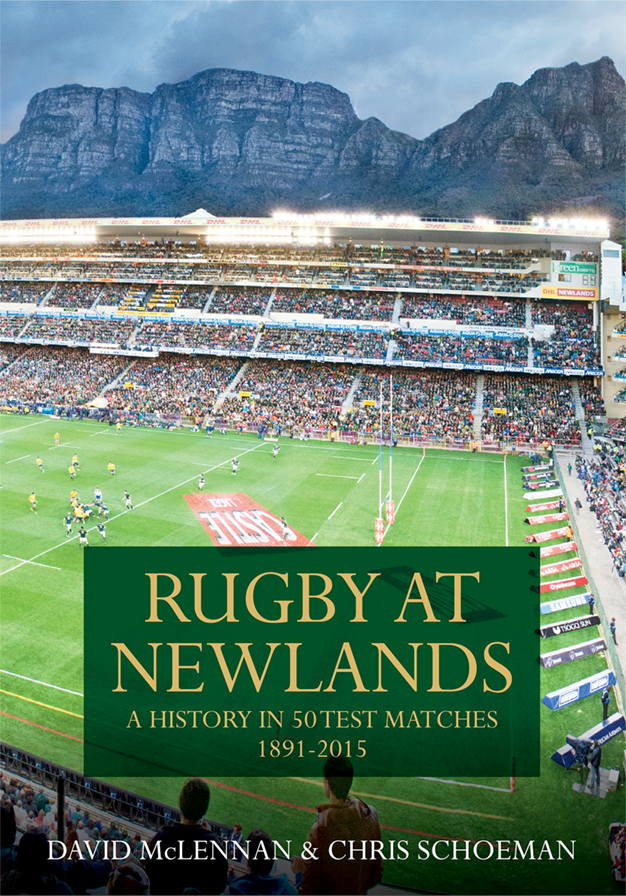 Rugby at Newlands by David McLennan+Chris Schoeman - 626x896